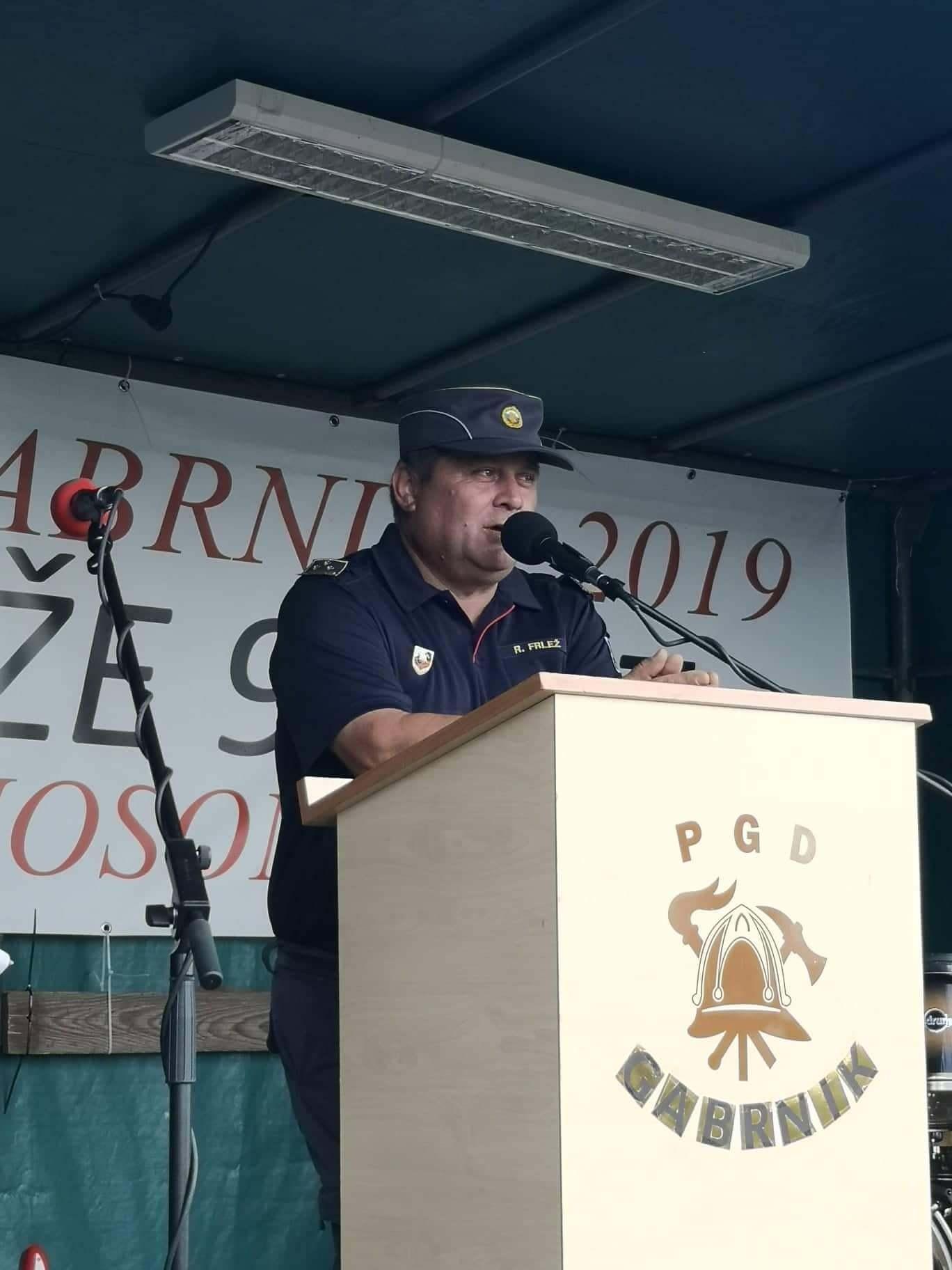 Roman FRLEŽ poveljnik PGD Gabrnik